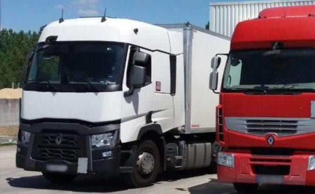 Aromys dispose de sa propre flotte de camions